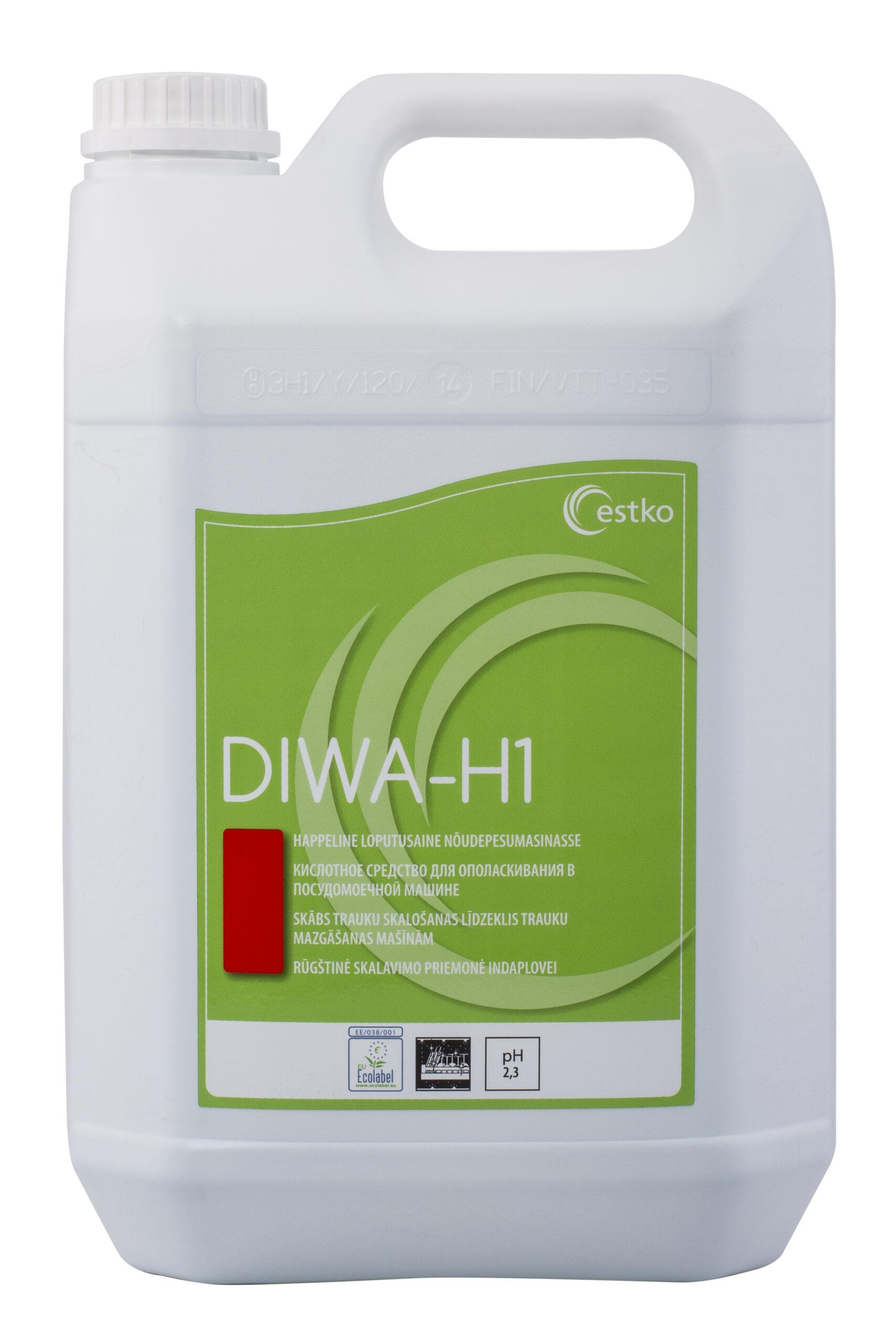 DIWA H1 loputusaine nõudepesumasinale