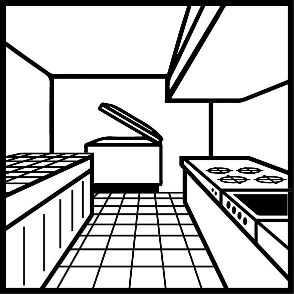 Köökide üldpuhastusaine põrandad ja pinnad