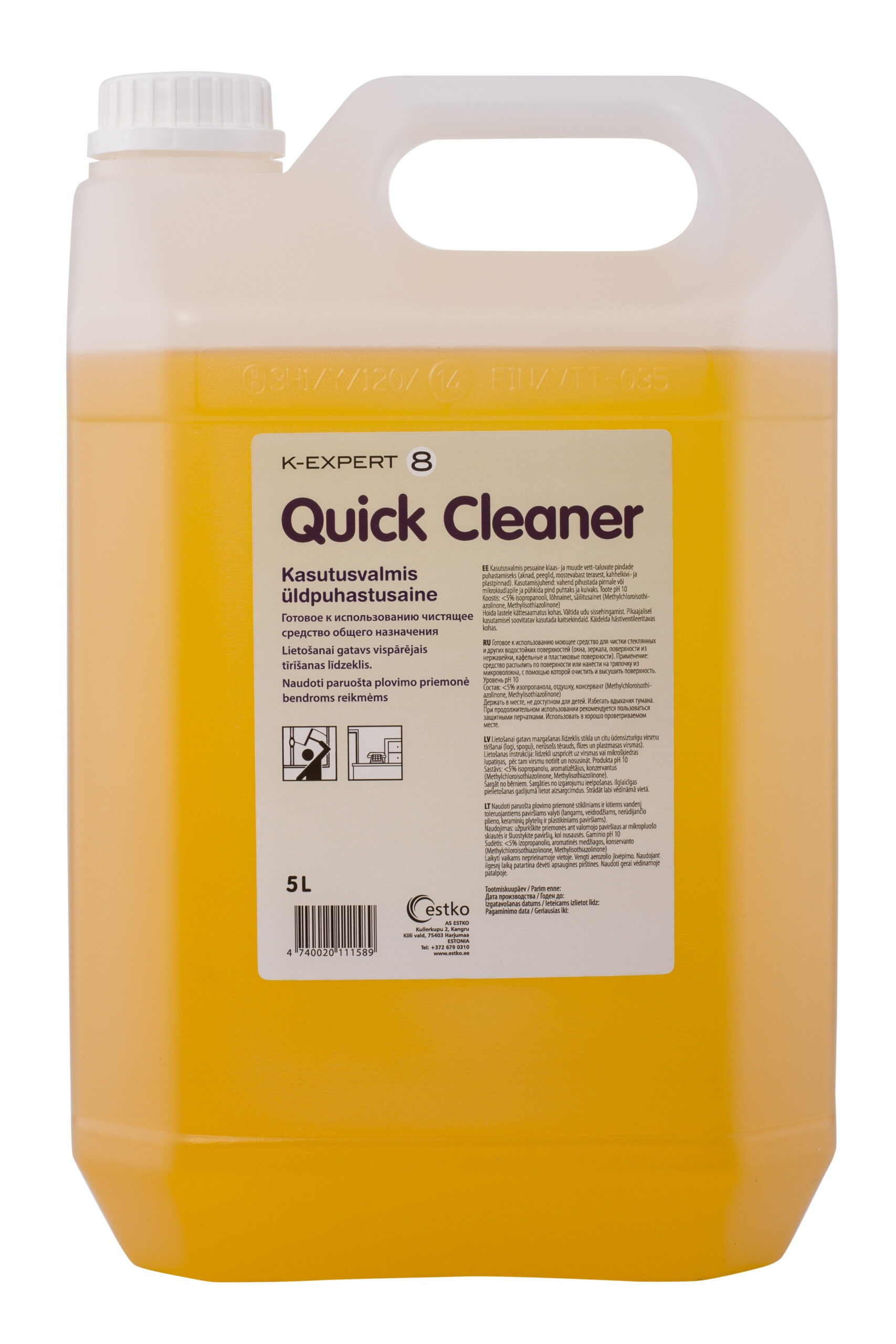 K-Expert 8 Quick Cleaner