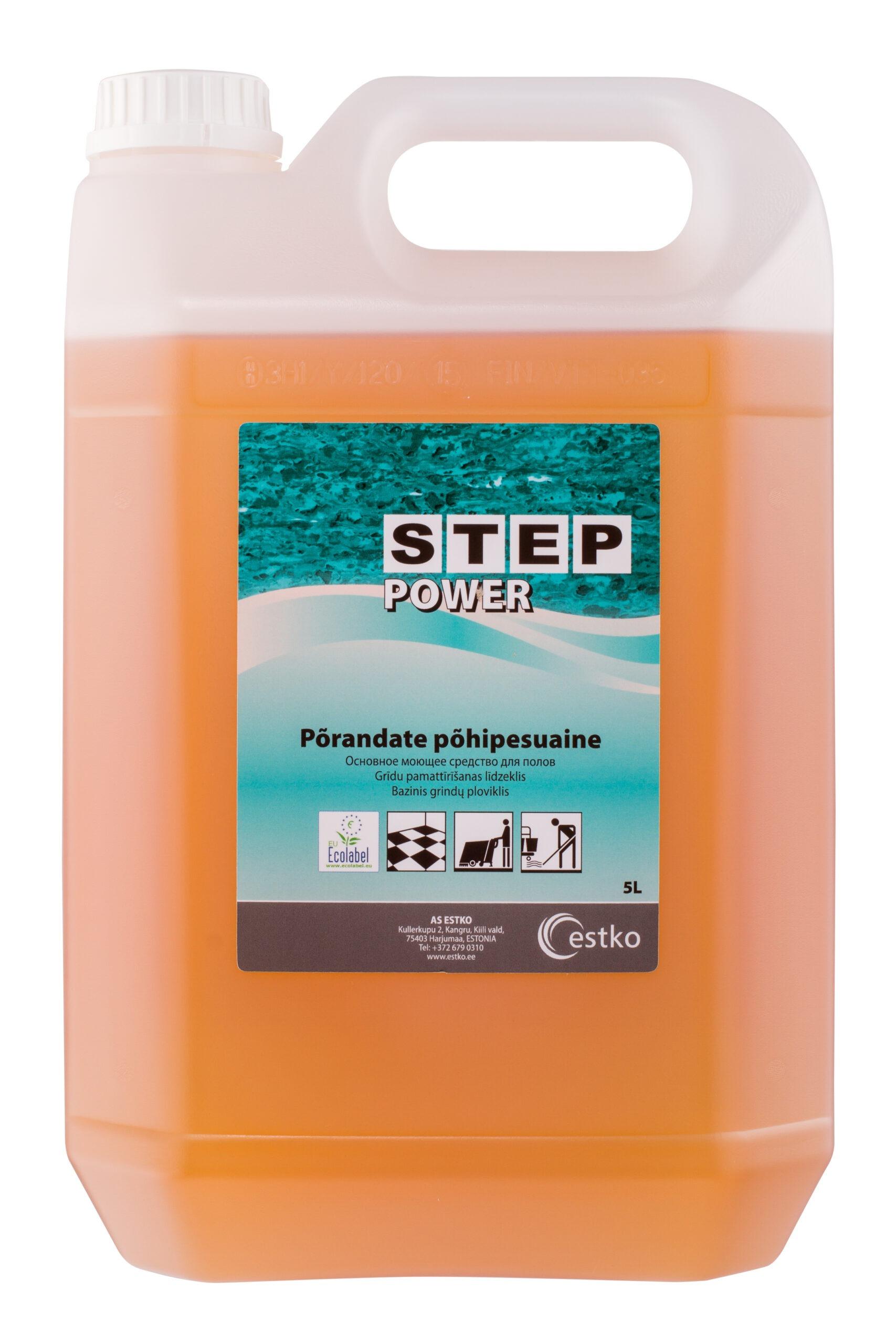 STEP Power põhipuhastusaine põrandatele