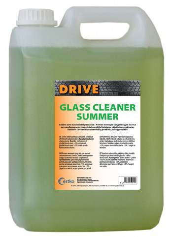 Drive Glass Cleaner Summer